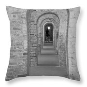 Fort Macon Going Home Throw Pillow