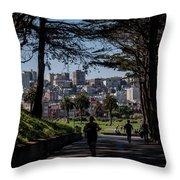 Fort Mason Frame Throw Pillow