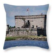 Fort Matanzas Throw Pillow