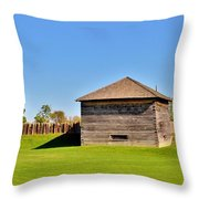 Fort Meigs Throw Pillow