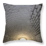 Fort Moultrie Bunker Tunnel Throw Pillow