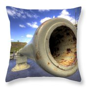 Fort Moultrie Cannon Throw Pillow