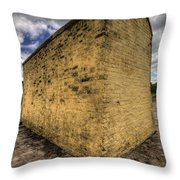 Fort Moultrie Defense Wall Throw Pillow