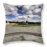 Fort Moultrie Throw Pillow
