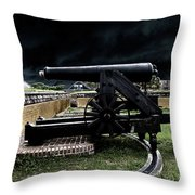 Fort Moultrie Magic Throw Pillow