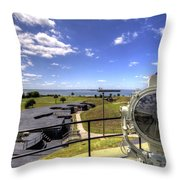 Fort Moultrie Signal Light Throw Pillow