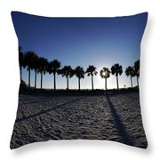 Fort Myers Beach Florida I Throw Pillow