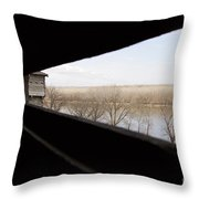 Fort Osage Throw Pillow