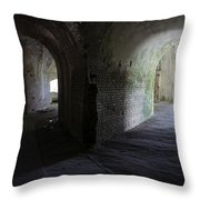 Fort Pickens Corridor 2 Throw Pillow