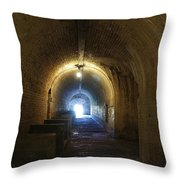 Fort Pickens Hall Throw Pillow
