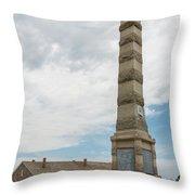 Fort Ridgely Memorial 1 Throw Pillow