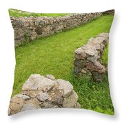 Fort Ridgely Remains 2 Throw Pillow