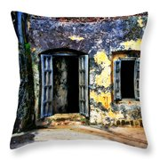 Fort San Juan Throw Pillow