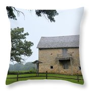 Fort Severson Throw Pillow