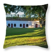 Fort Sewall Marblehead Ma Throw Pillow