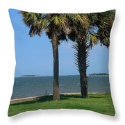 Fort Sumter Charleston Sc Throw Pillow