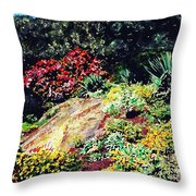 Fort Tryon Park Throw Pillow