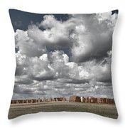 Fort Union New Mexico Throw Pillow