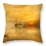 Fort Vimieux Throw Pillow