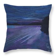 Fort Walton Florida Throw Pillow