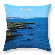Fort Williams Park Throw Pillow