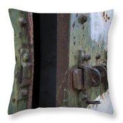 Fort Worden Detail 3586 Throw Pillow