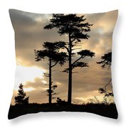 Fort Worden Sunrise Throw Pillow
