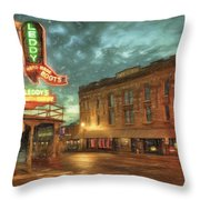 Fort Worth Impressions Main And Exchange Throw Pillow