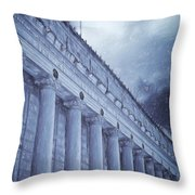Fort Worth Impressions Post Office Throw Pillow
