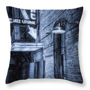 Fort Worth Impressions Scat Lounge Bw Throw Pillow