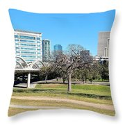 Fort Worth Wide Angle Throw Pillow