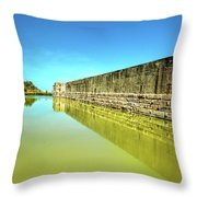 Fort Zachary Taylor, Key West Throw Pillow