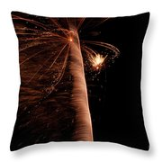 Fourth Of July Fireworks Twelve Throw Pillow