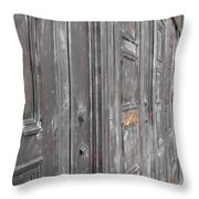 Fortress Doors Throw Pillow