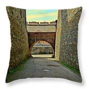 Fortress Ehrenbreitstein. Koblenz. Germany.  Throw Pillow