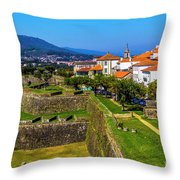 Fortress Walls Throw Pillow