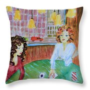Fortune Teller Throw Pillow