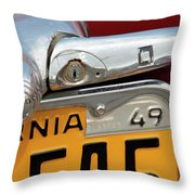 Forty Niner Throw Pillow