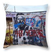 Forty Years Throw Pillow