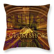 Forum Shops - Las Vegas Throw Pillow