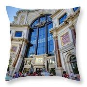 Forum Shops Throw Pillow