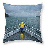 Forward Lookout Throw Pillow