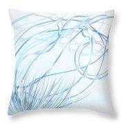 Forward Motion Throw Pillow