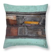 Forwarding Address Throw Pillow