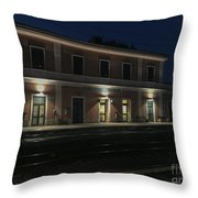 Fossanova Throw Pillow