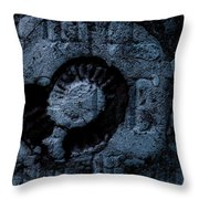 Fossil Grave II Throw Pillow
