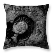 Fossil Grave IIi Throw Pillow