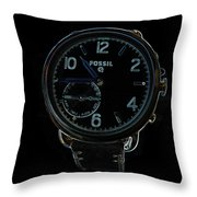 Fossil Q 3 Throw Pillow