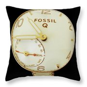 Fossil Q 7 Throw Pillow