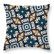 Fossil Road Mosaic Throw Pillow
